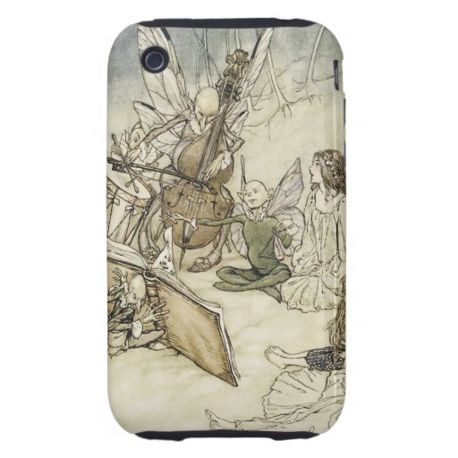 Fairy Musicans - Rackham Tough iPhone 3 Cases