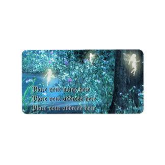 fairy night address lables label