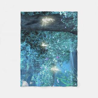 Fairy night  Fleece Blanket