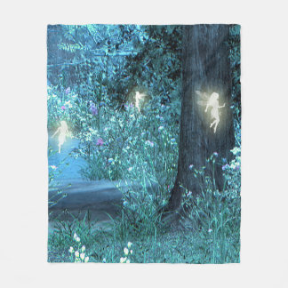 "Fairy night fleece blanket 50""x60"""