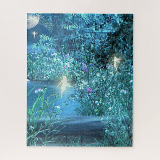 Fairy night forest Puzzle