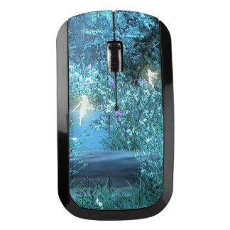 Fairy night forest Wireless mouse