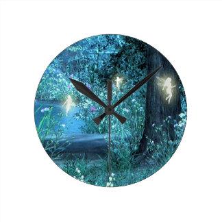 Fairy night magic clock