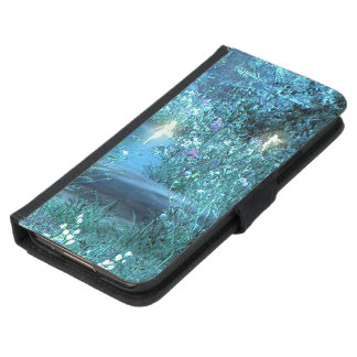 fairy night magic Galaxy S5 or S4 Wallet Case