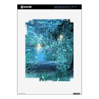 Fairy night magic iPad 3 skin