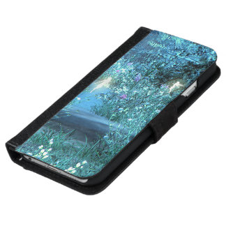 Fairy night magic  iPhone 6 or 5 Wallet Case