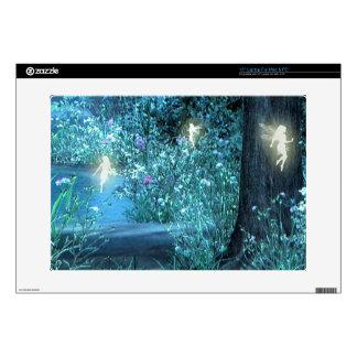 Fairy night magic laptop skin