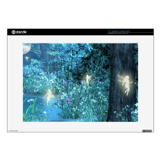 Fairy night magic Laptop skins