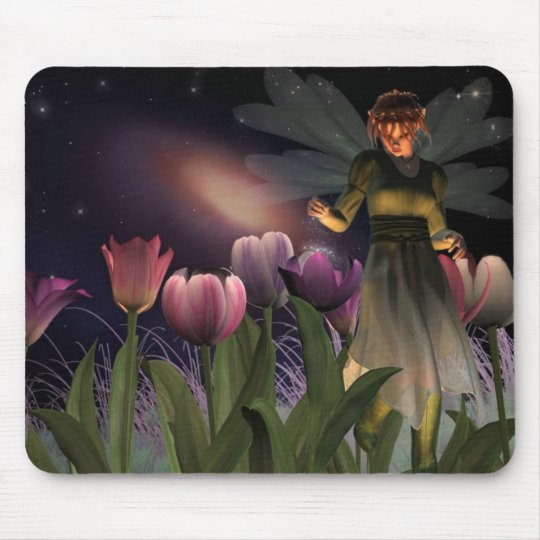 Fairy Night Magic mousepad