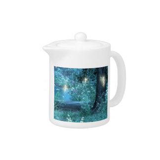 Fairy night magic teapot
