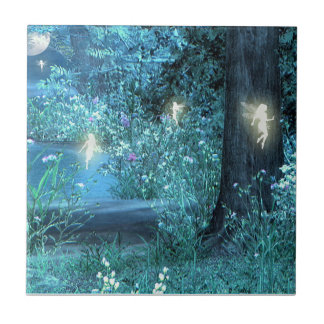Fairy night magic tile