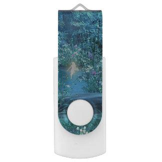 fairy night USB Flash Drive Swivel USB 2.0 Flash Drive