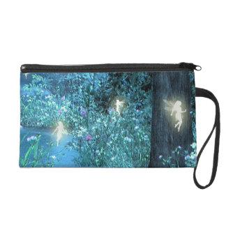 fairy night wristlet purse