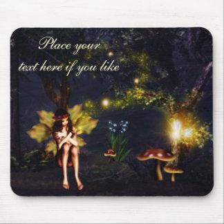 Fairy nightlights mouse pad