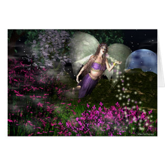 Fairy NightMagick Greeting Card