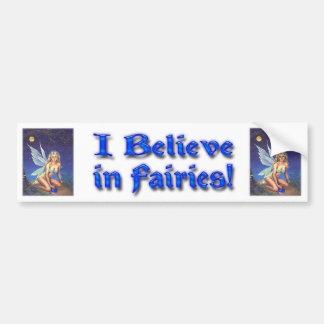 Fairy Nocturne Car Bumper Sticker