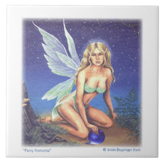 Fairy Nocturne Ceramic Tile