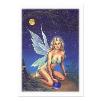 Fairy Nocturne Large Business Card