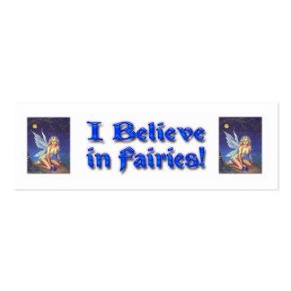Fairy Nocturne Mini Business Card