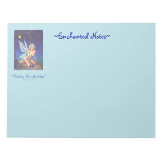 Fairy Nocturne Note Pad