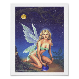 Fairy Nocturne Poster
