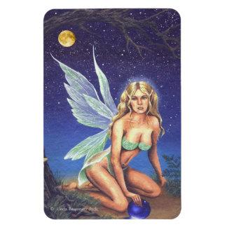 Fairy Nocturne Rectangular Photo Magnet