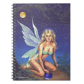 Fairy Nocturne Spiral Notebook