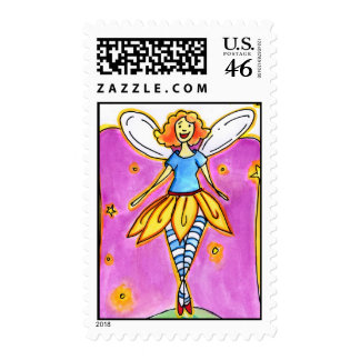 Fairy Notes Postage Stamp