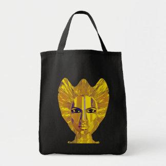 fairy of sea and moon tote bag