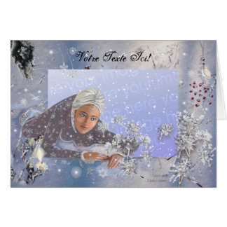 Fairy of Snows! Greeting Card