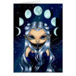 """""""Fairy of the Changing Moons"""" Greeting Card"""