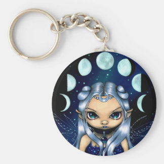 """""""Fairy of the Changing Moons"""" Keychain"""