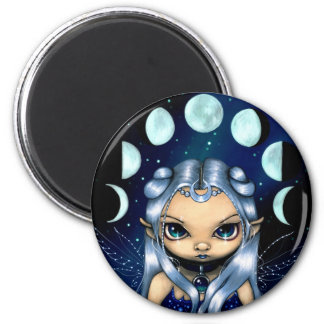 """Fairy of the Changing Moons"" Magnet"