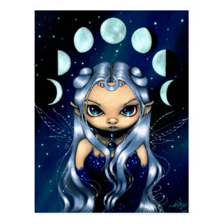 """""""Fairy of the Changing Moons"""" Postcard"""