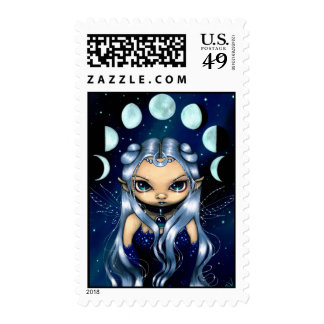 """""""Fairy of the Changing Moons"""" Stamp"""