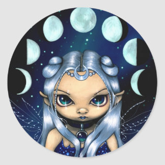 """Fairy of the Changing Moons"" Sticker"
