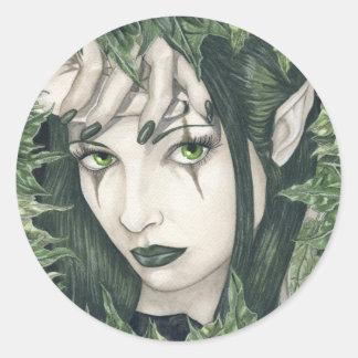 Fairy of the Dark Forest Sticker