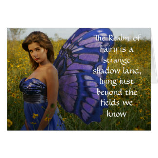 Fairy of the Field Greeting Card