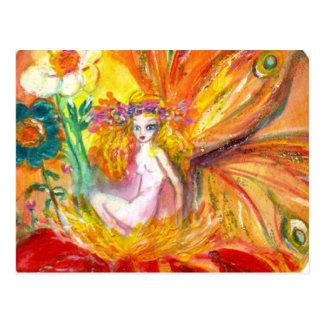 FAIRY OF THE FLOWER ,Postcard Postcard