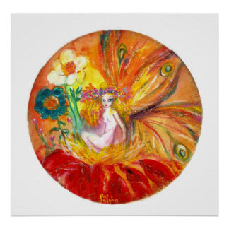FAIRY OF THE FLOWERS PRINT