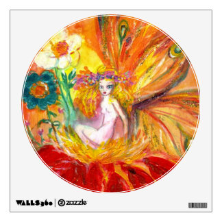 FAIRY OF THE FLOWERS WALL DECAL