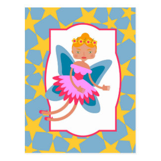 Fairy of the forest post card
