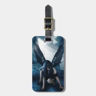 Fairy of the Odd Luggage Tag