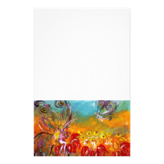 FAIRY OF THE RED FLOWERS STATIONERY