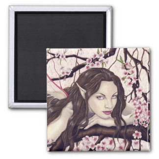 Fairy of the Spring Bloom Magnet