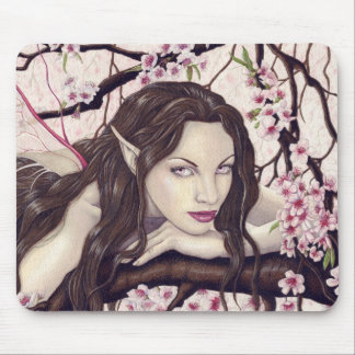 Fairy of the Spring Bloom mousepad