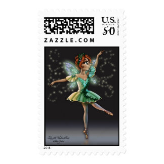Fairy of the Woodland Glade Postage