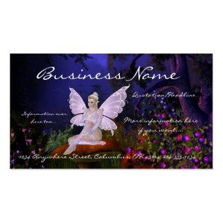 Fairy on a Mushroom Design 3 Fantasy Business Card