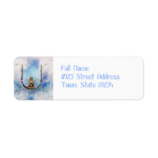 Fairy on a Swing  Mailing Labels