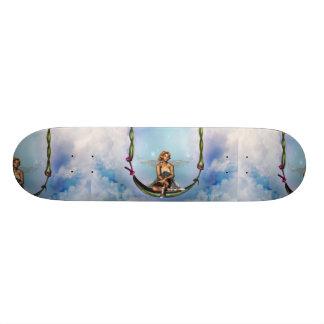 Fairy on a Swing  Skateboard